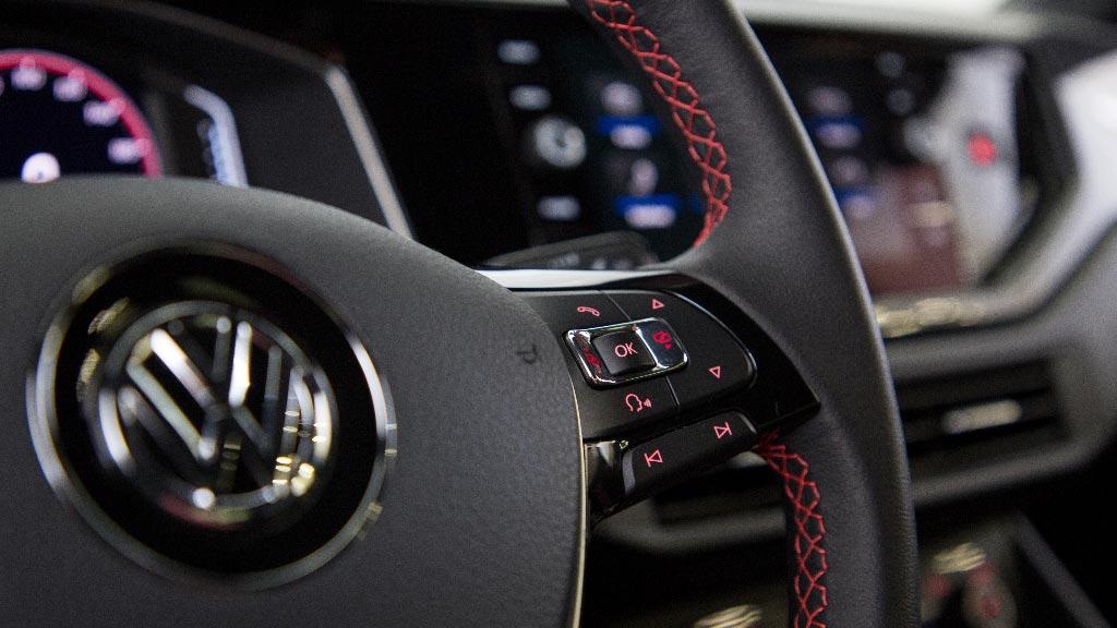 Interior Volkswagen Virtus GTS