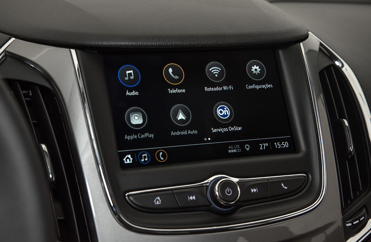 Interior Chevrolet Cruze LT - MyLink