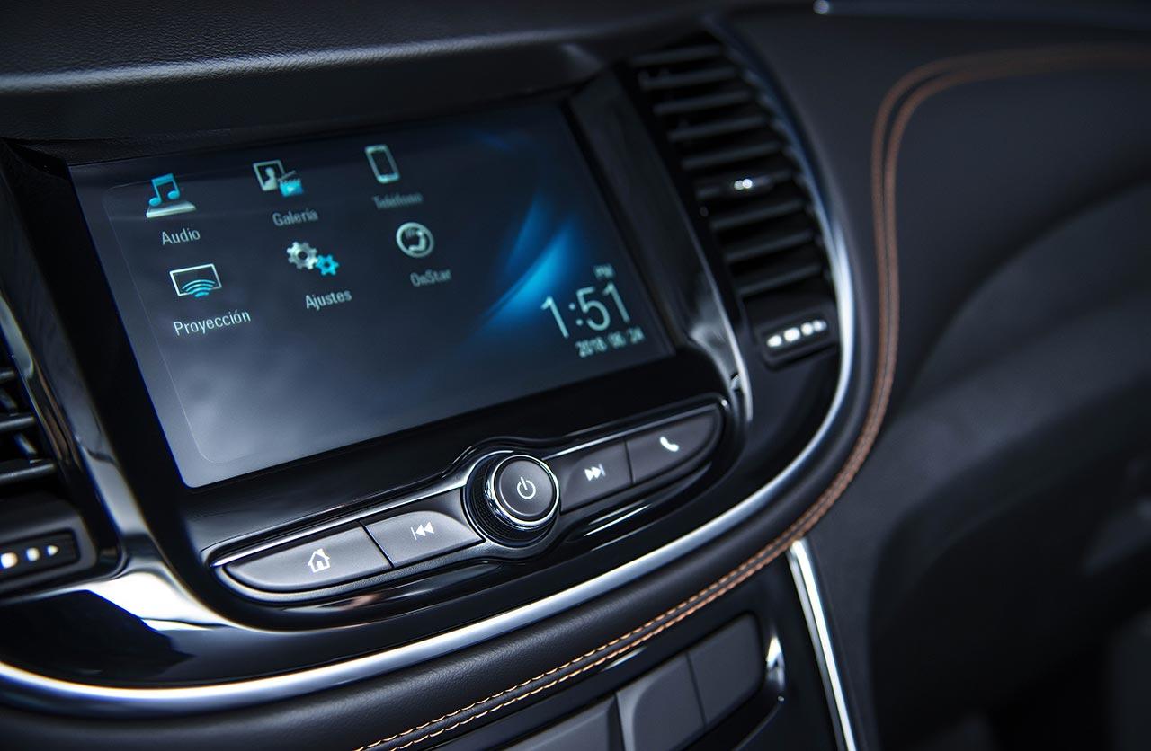 Interior Chevrolet Tracker Midnight