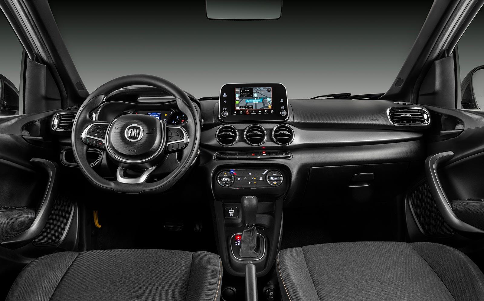 Interior Fiat Argo Trekking 1.8 AT
