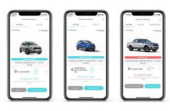 Con MyKeego ya podés alquilar un Ford por minutos, horas o días desde tu celular