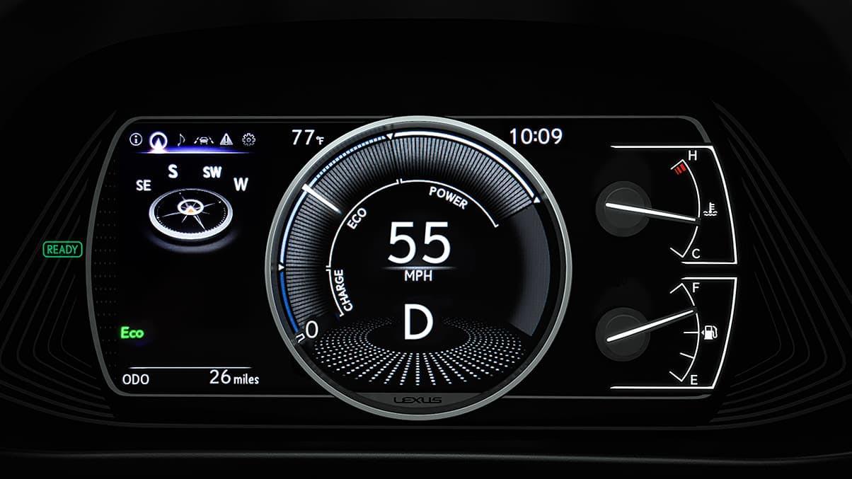 Tablero Lexus UX