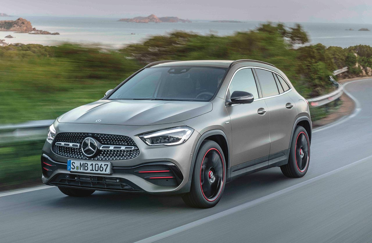 Nueva generación para el Mercedes-Benz GLA