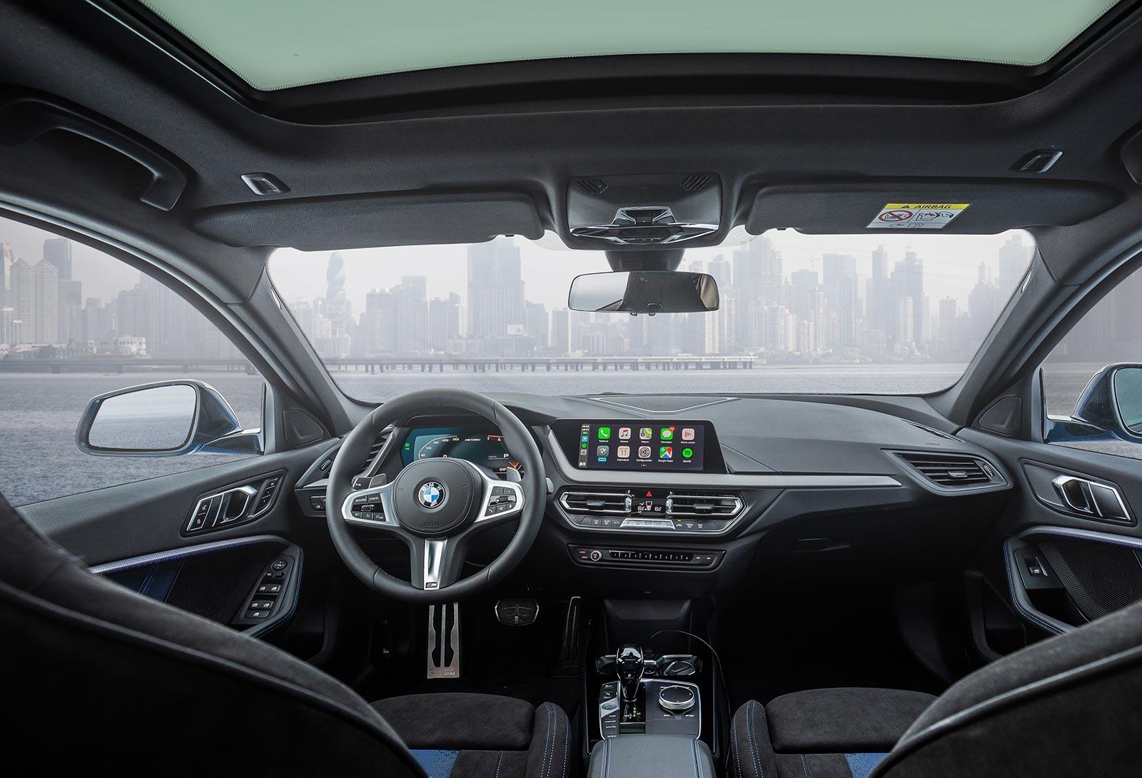 Interior nuevo BMW Serie 1