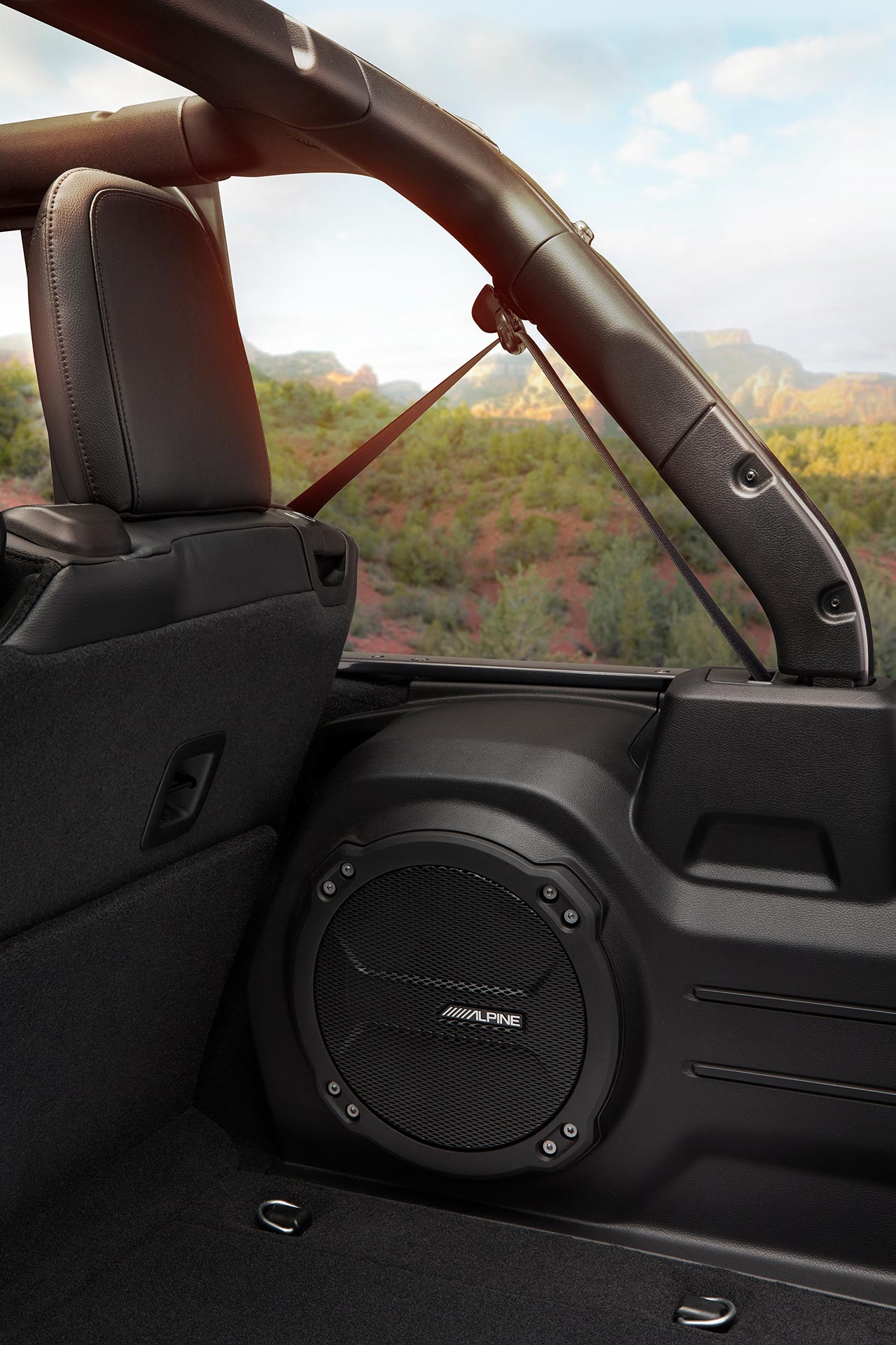 Nuevo Jeep Wrangler JL audio Alpine