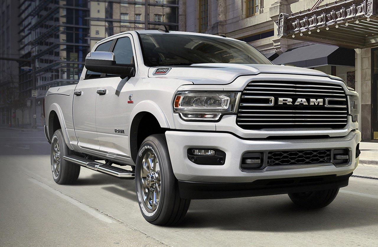 La nueva Ram 2500 llegará en 2020 con 365 caballos y ¡1.085 Nm de torque!