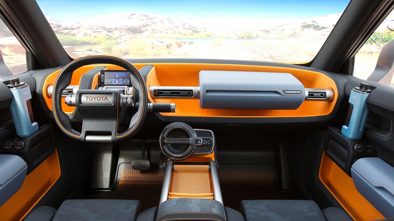 Interior Toyota FT 4X Concept