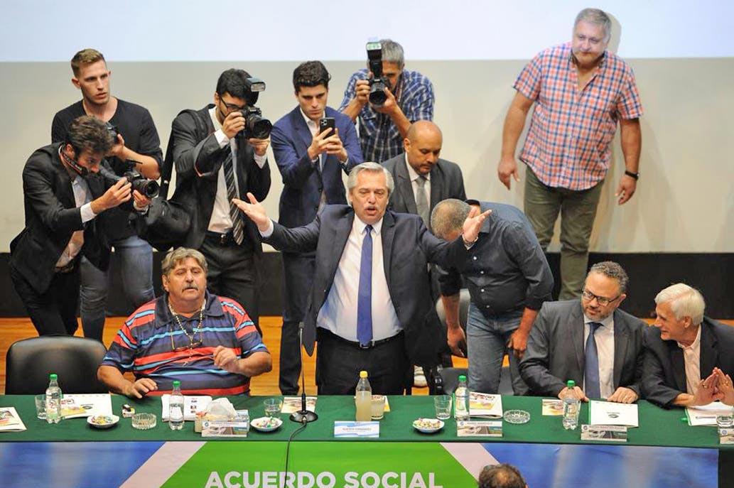 Alberto Fernández SMATA acuerdo automotor 2030