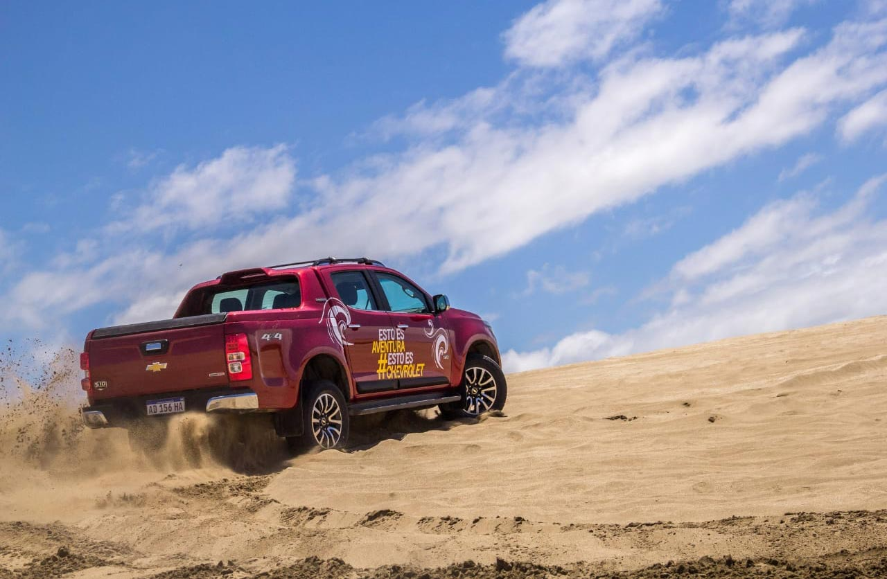 Test drives off road en Pinamar