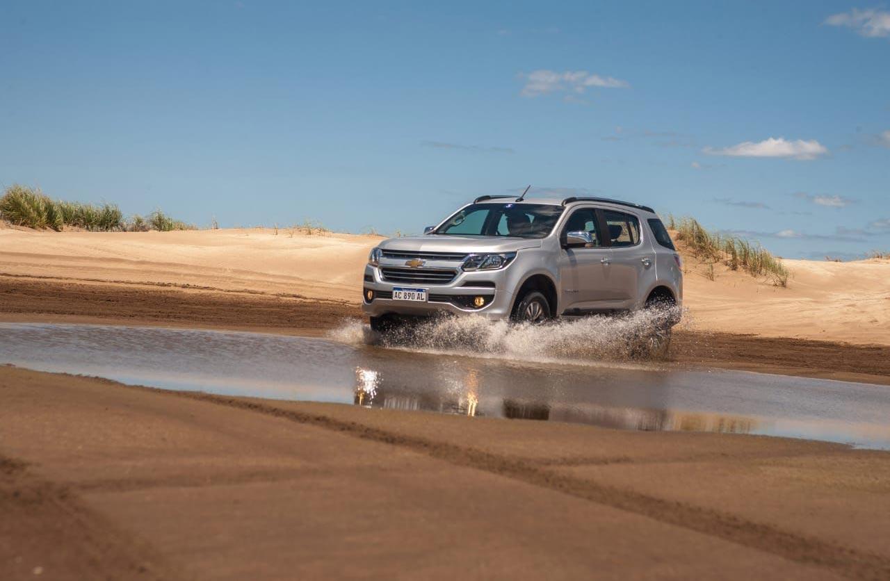 Chevrolet Trailblazer travesías verano