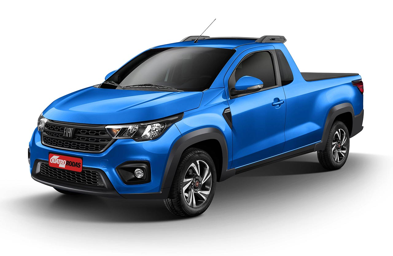 Nueva Fiat Strada 2021 cabina simple