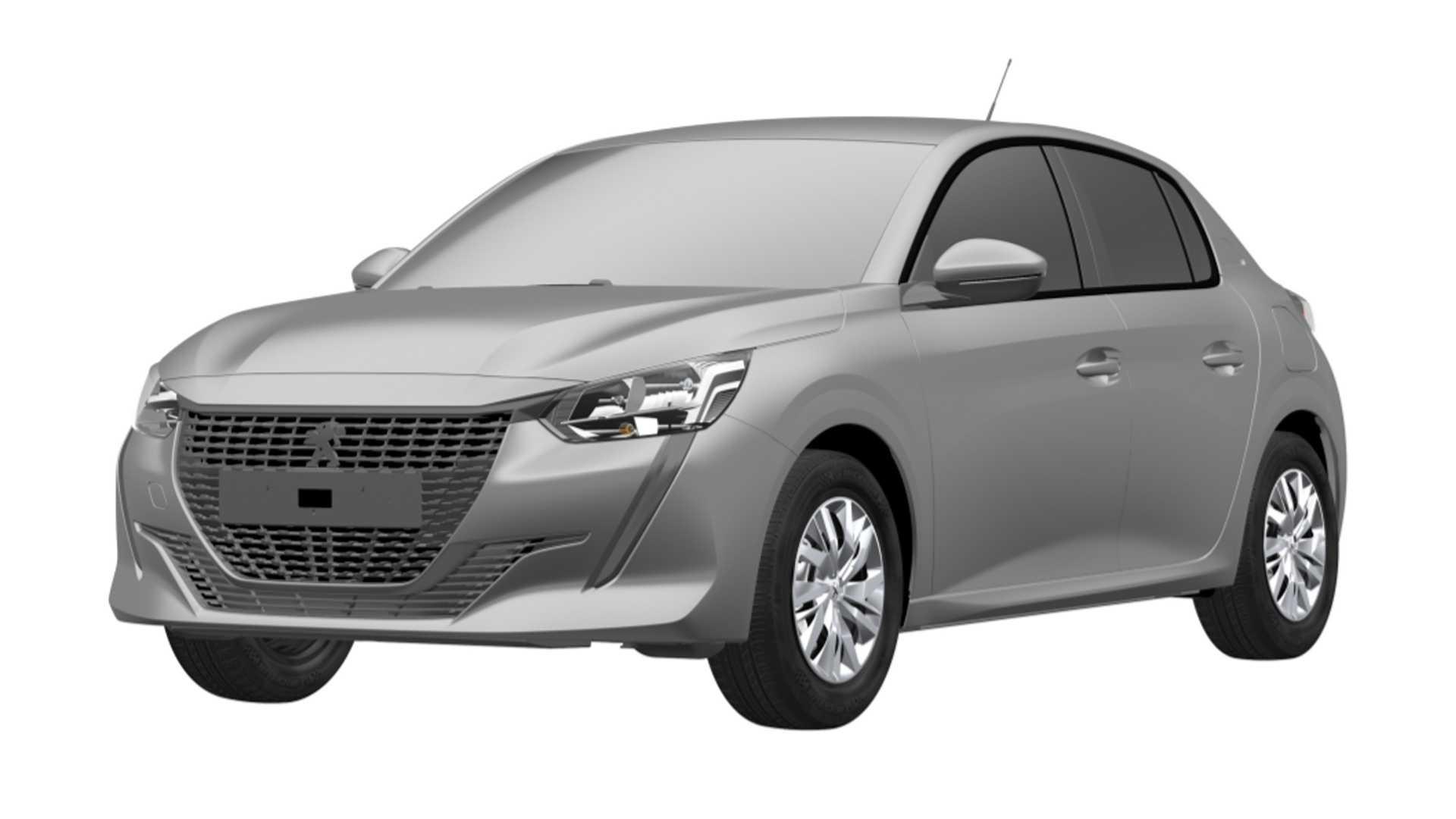 Nuevo Peugeot 208 versión básica entrada de gama