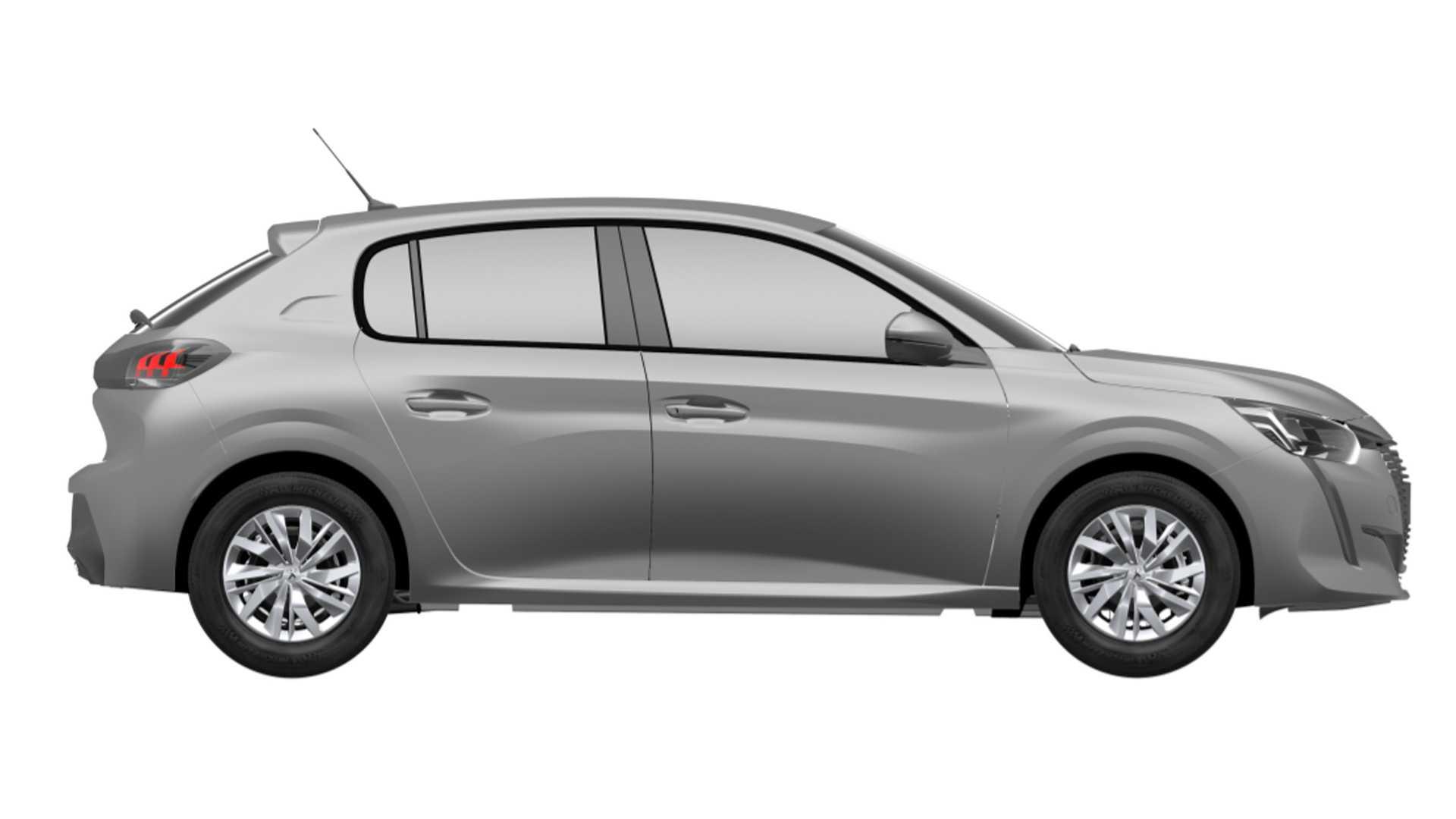 Nuevo Peugeot 208 versión básica