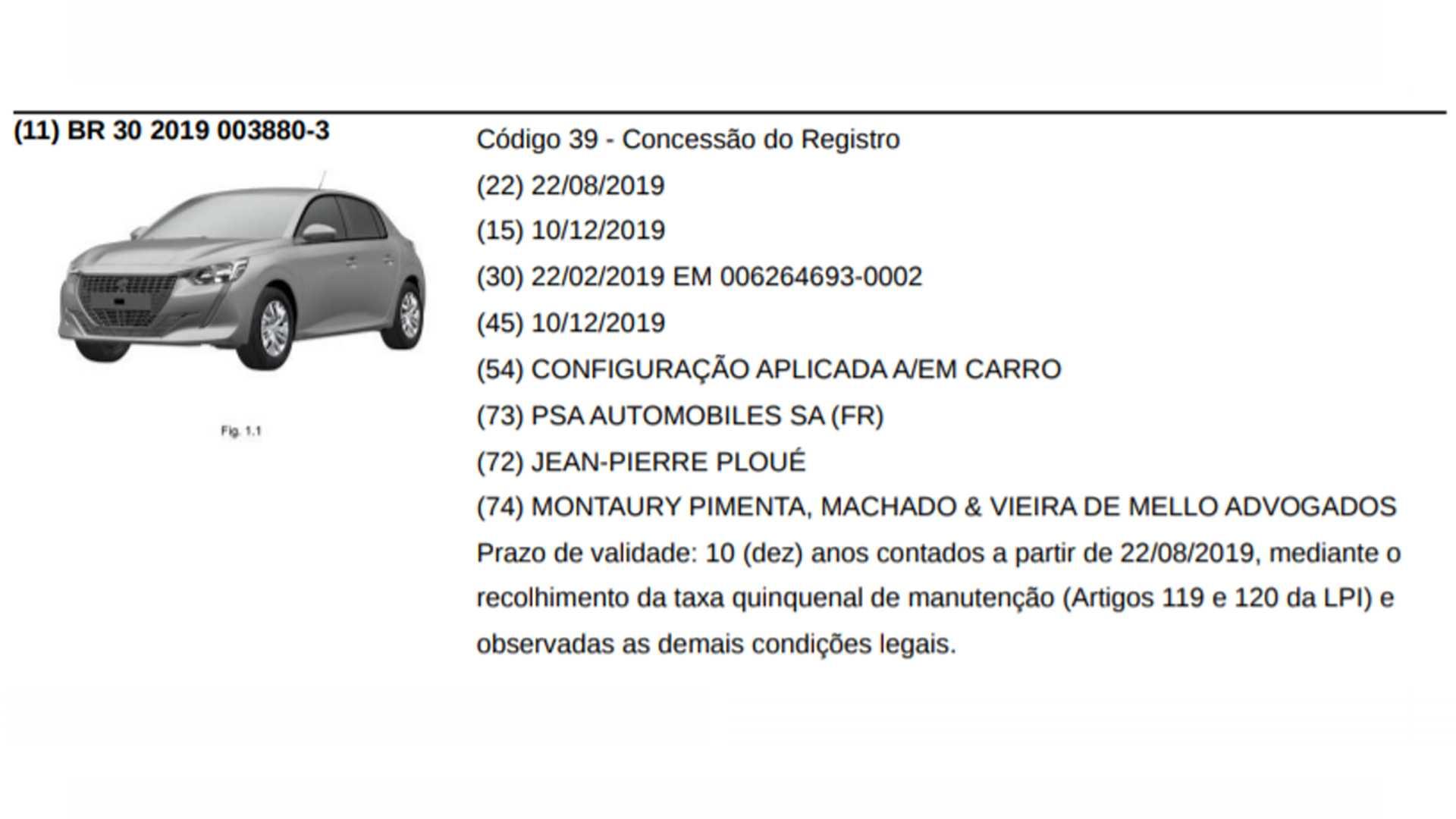 Nuevo Peugeot 208 versión entrada