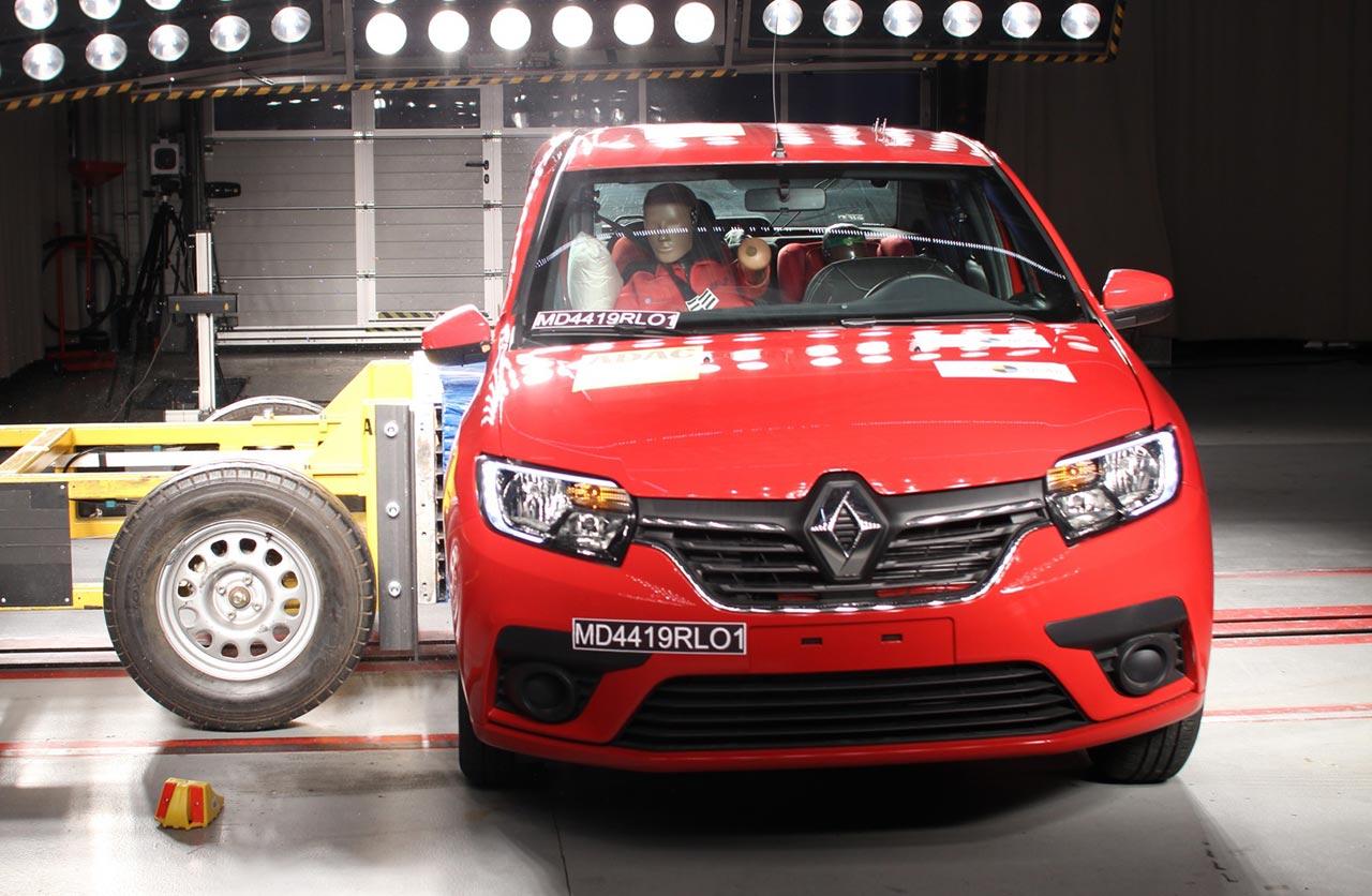 Los Renault Sandero, Logan y Stepway fabricados en Mercosur son menos seguros