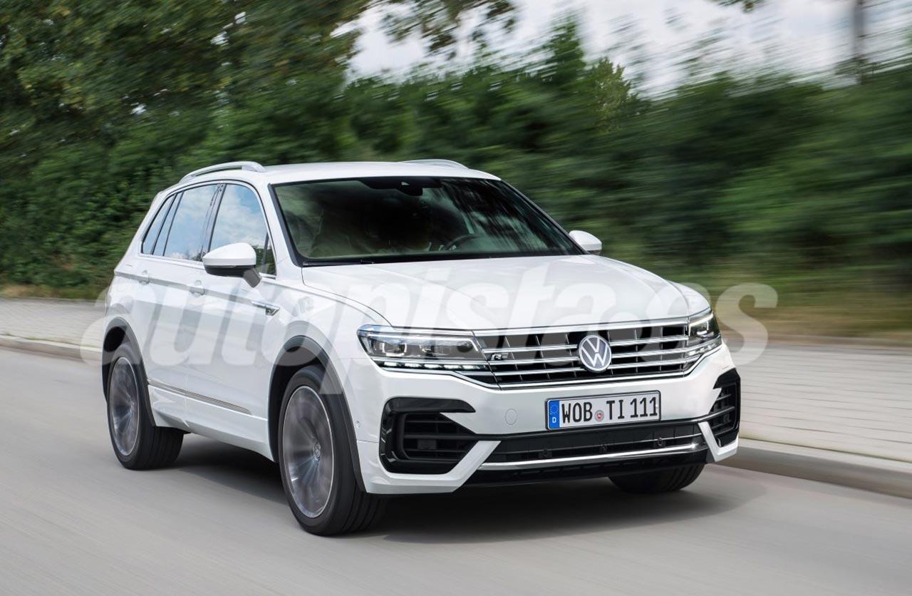 Anticipan el restyling de la Volkswagen Tiguan