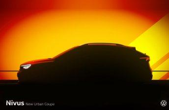 Nivus: nombre confirmado para el nuevo SUV Coupé de Volkswagen