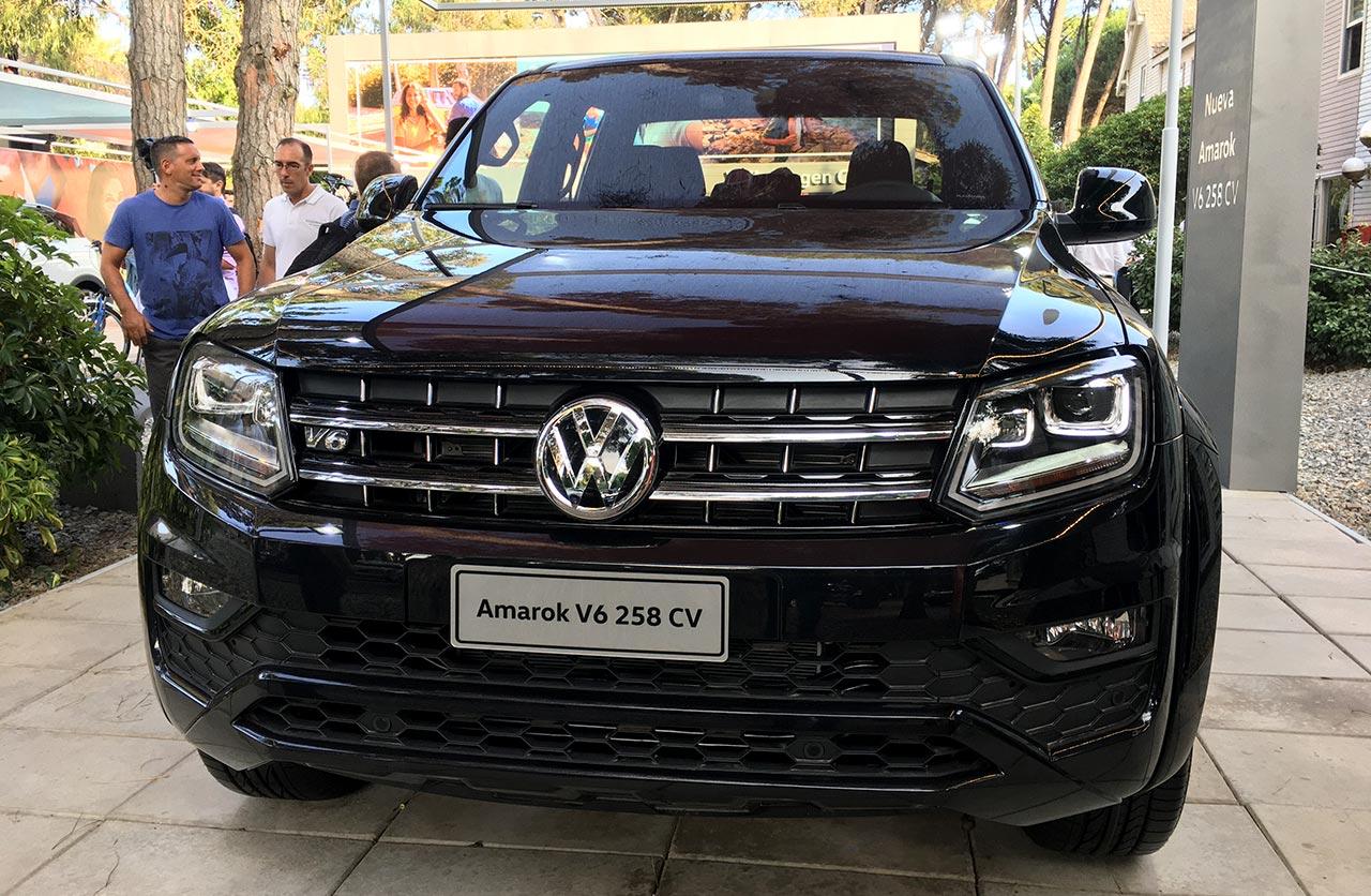 Volkswagen Amarok V6 258 CV Black Style