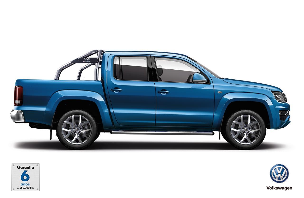 Volkswagen Amarok, ahora con garantía de 6 años o 150.000 km
