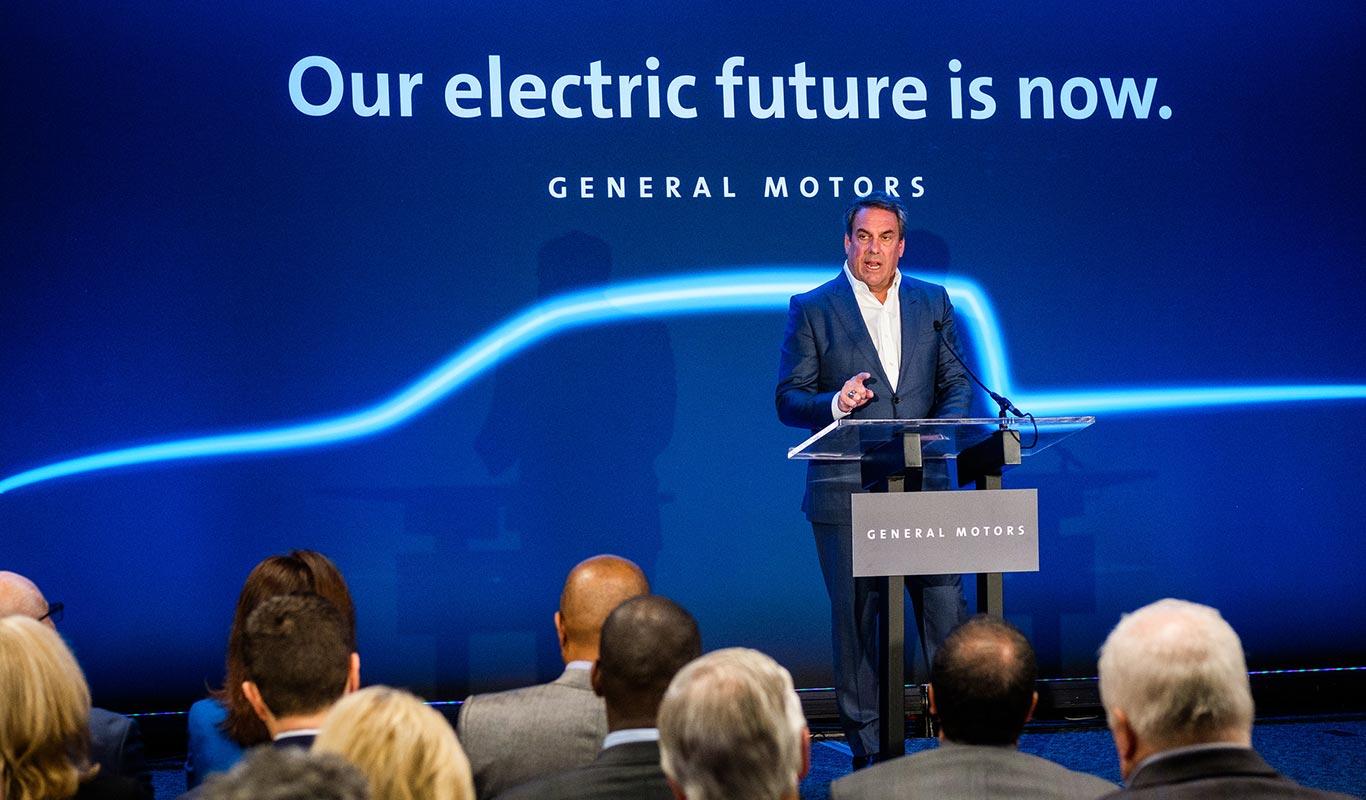 General Motors pick up SUV eléctricos