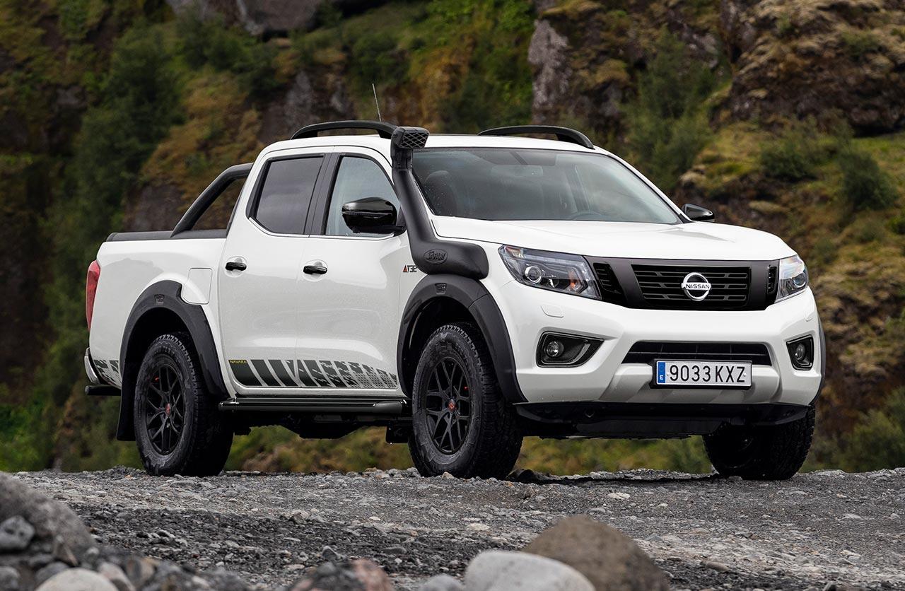 Una Nissan Frontier más off road
