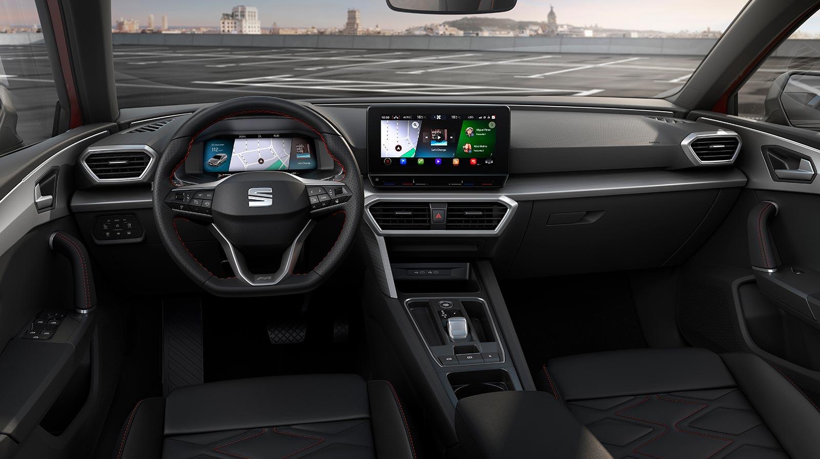 Interior Nuevo Seat León 2020
