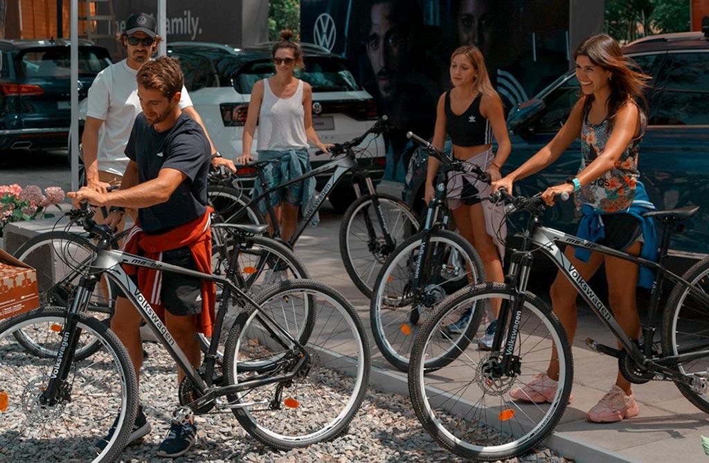 Volkswagen lanzó su nueva colección de bicicletas