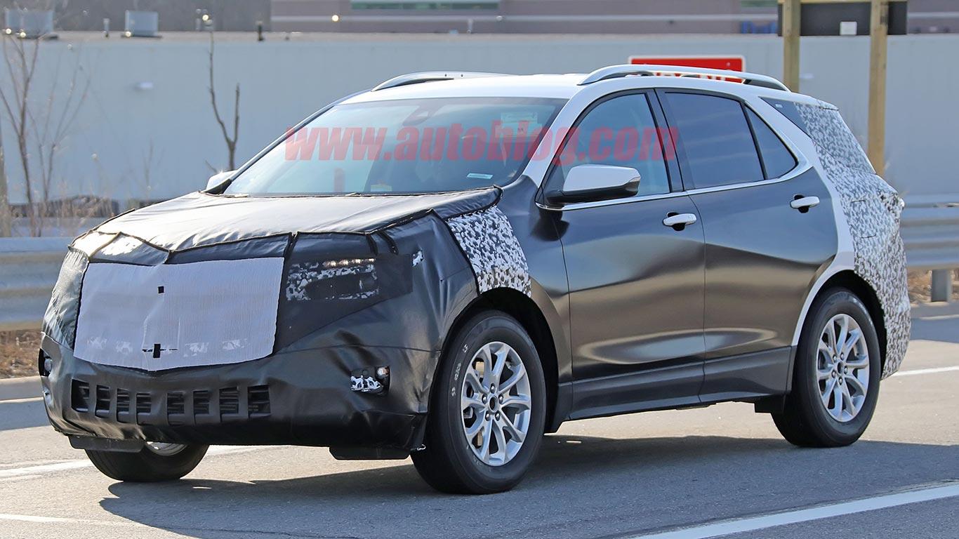 Chevrolet Equinox 2021 restyling