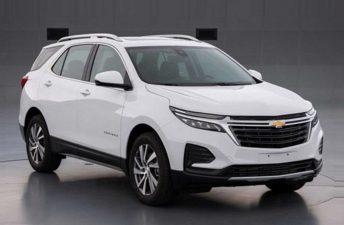 Así es el restyling del Chevrolet Equinox