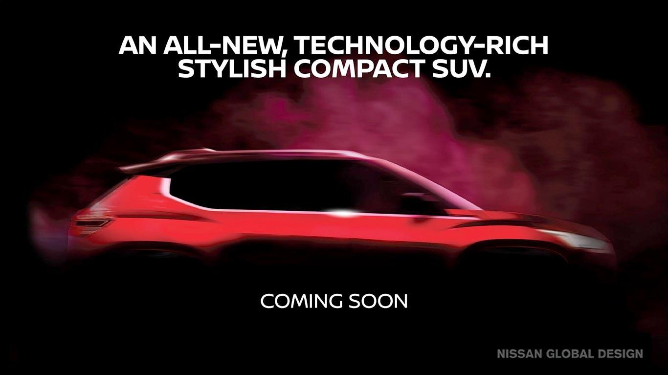 Nuevo SUV compacto Nissan