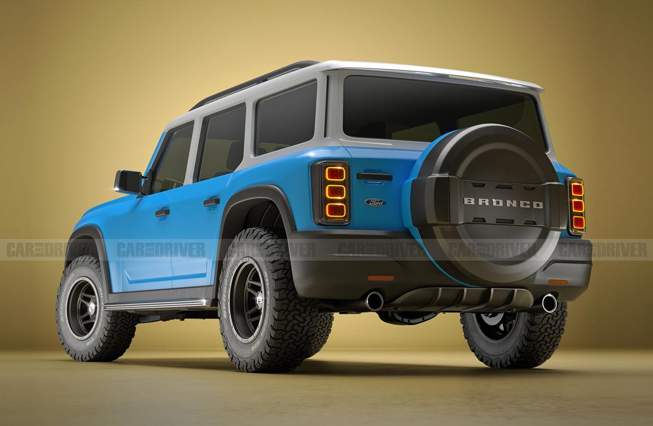 Ford Bronco 2021 (Car and Driver)