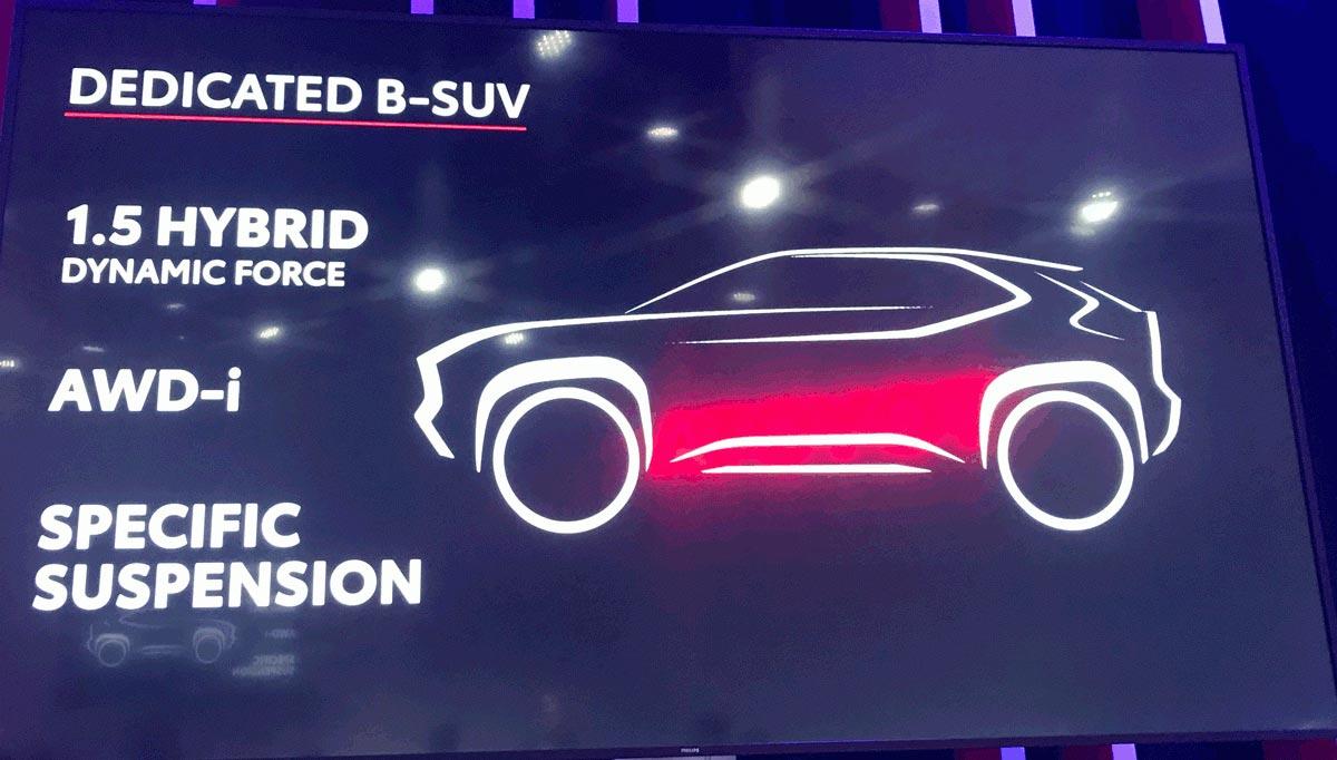 Toyota nuevo SUV B