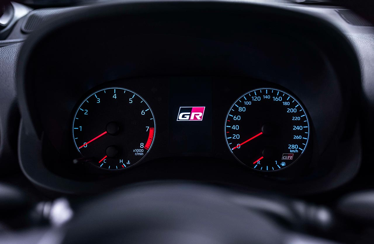 Tablero Toyota GR Yaris