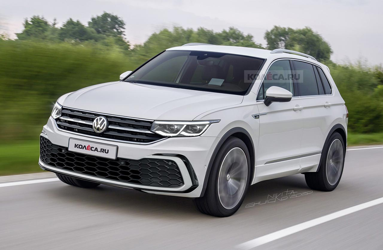 Se viene la renovación de la Volkswagen Tiguan