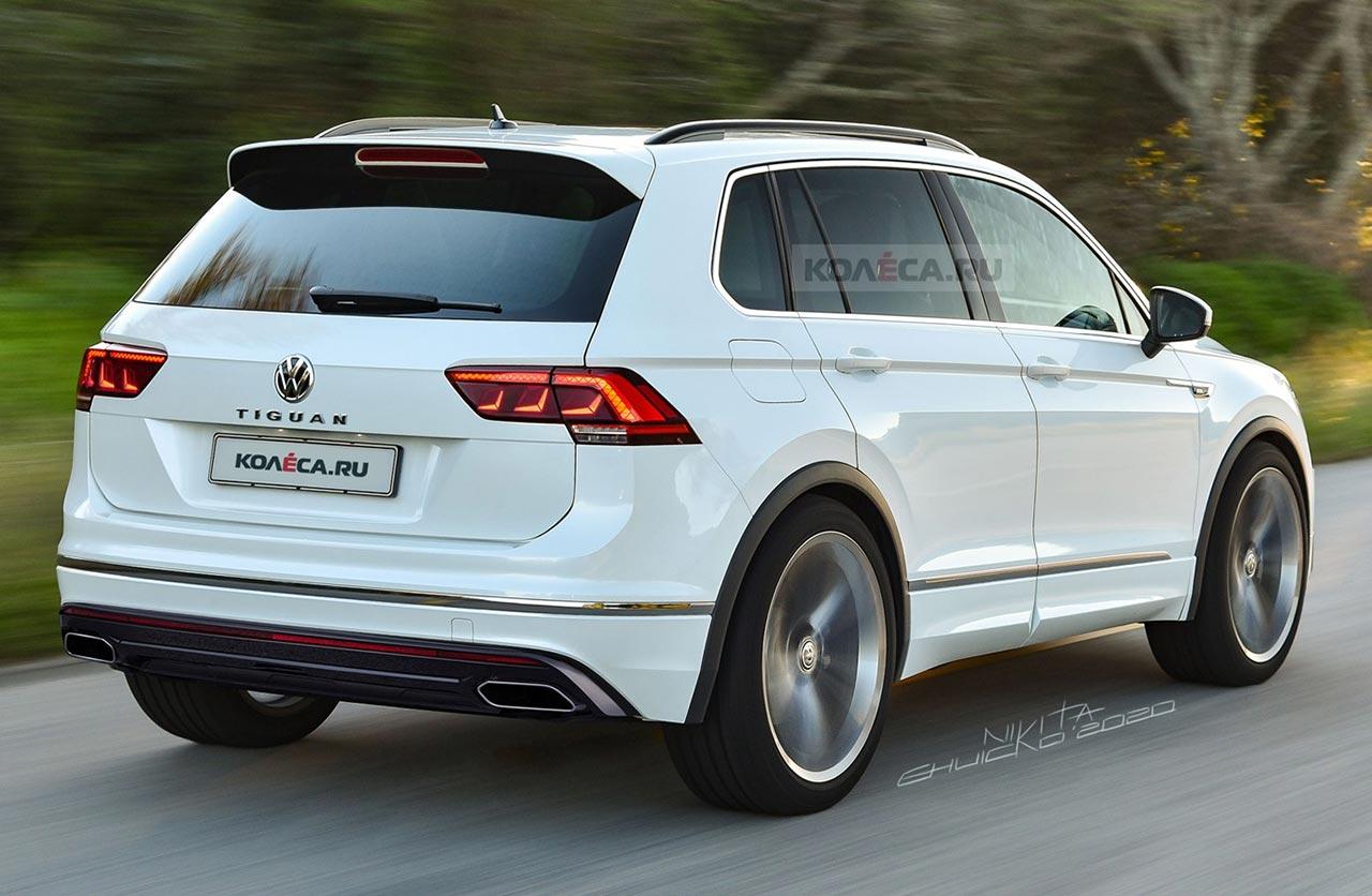 Volkswagen Tiguan 2020 restyling