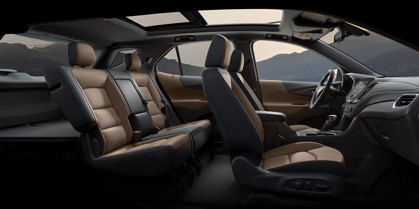 Interior nueva Chevrolet Equinox Premier 2021