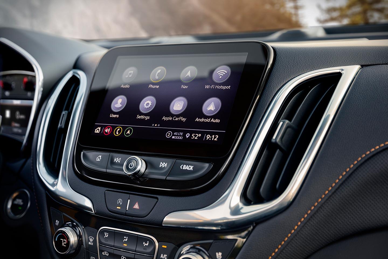 Interior Chevrolet Equinox Premier 2021