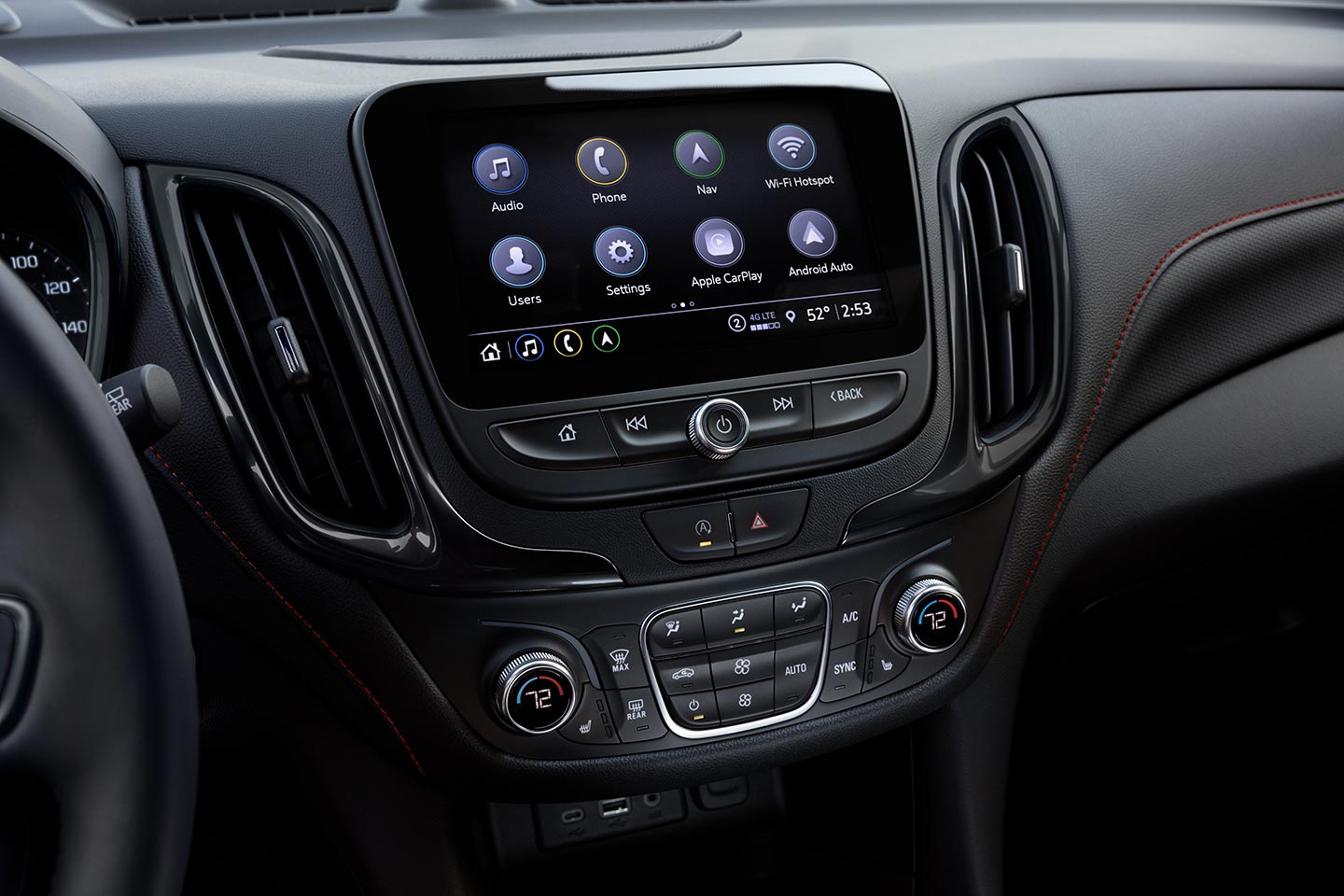 Interior Chevrolet Equinox RS