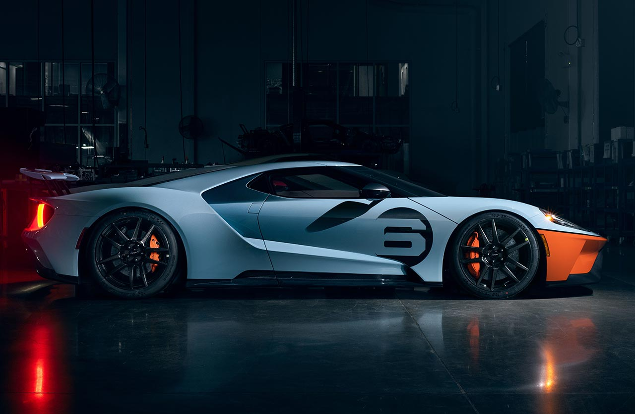 Ford GT Heritage 2020