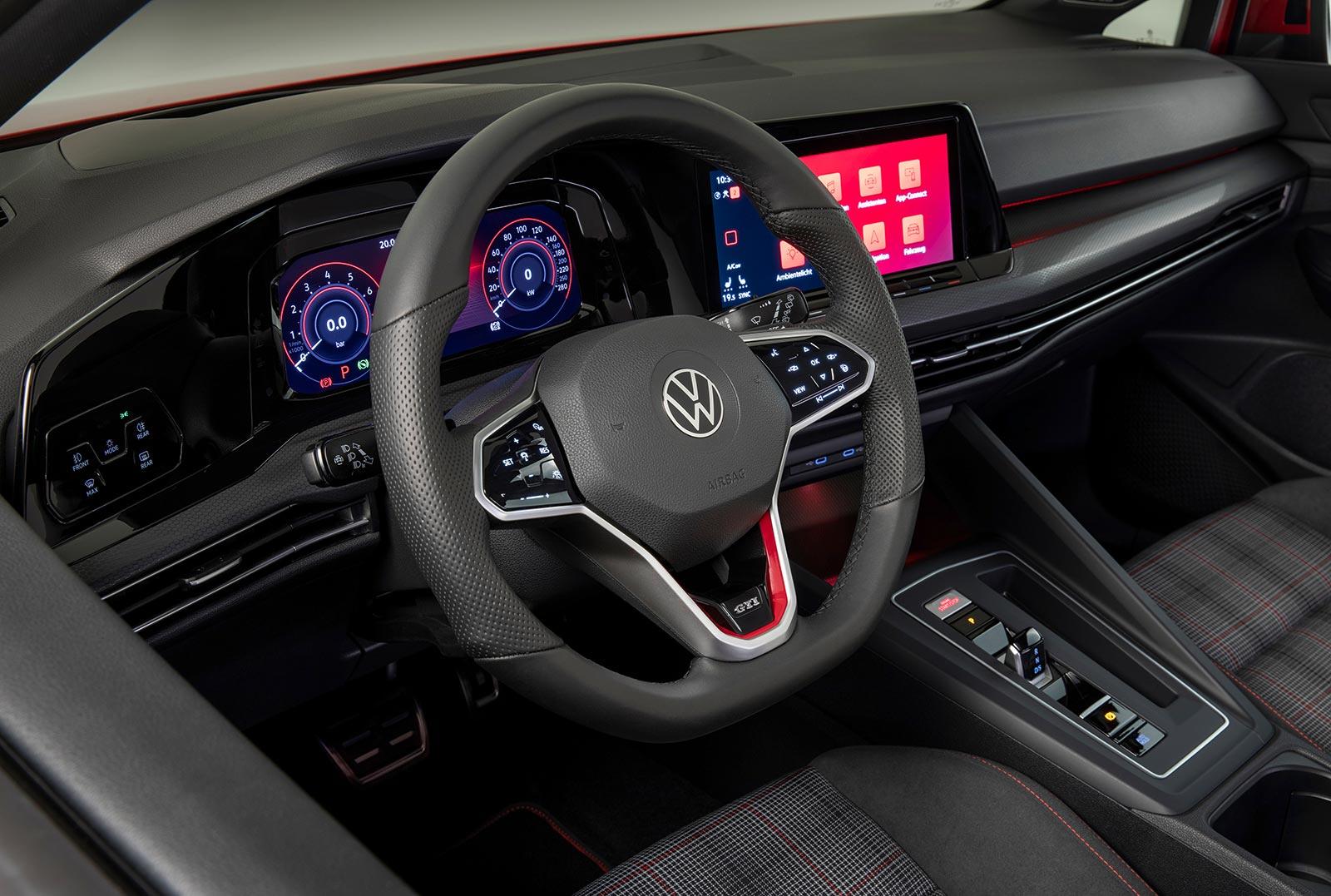 Interior Nuevo Volkswagen Golf GTI 8