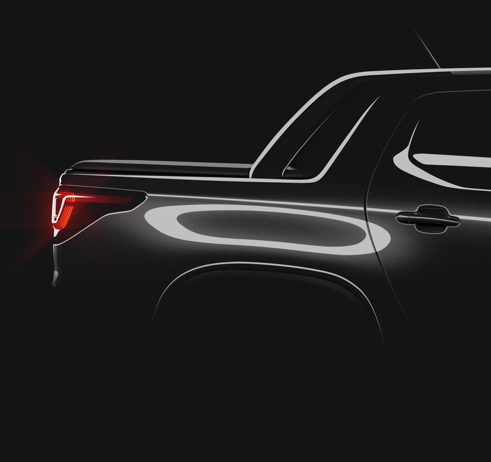 Nueva Fiat Strada atras