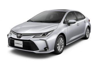 Llegaron nuevas versiones del Toyota Corolla