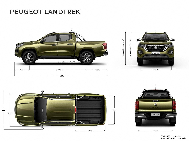 medidas Peugeot Landtrek
