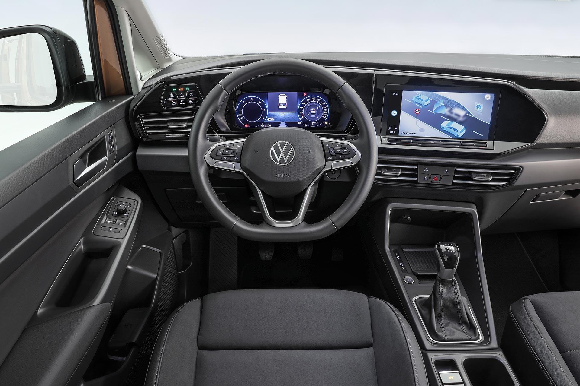 Interior Nuevo Volkswagen Caddy 2020