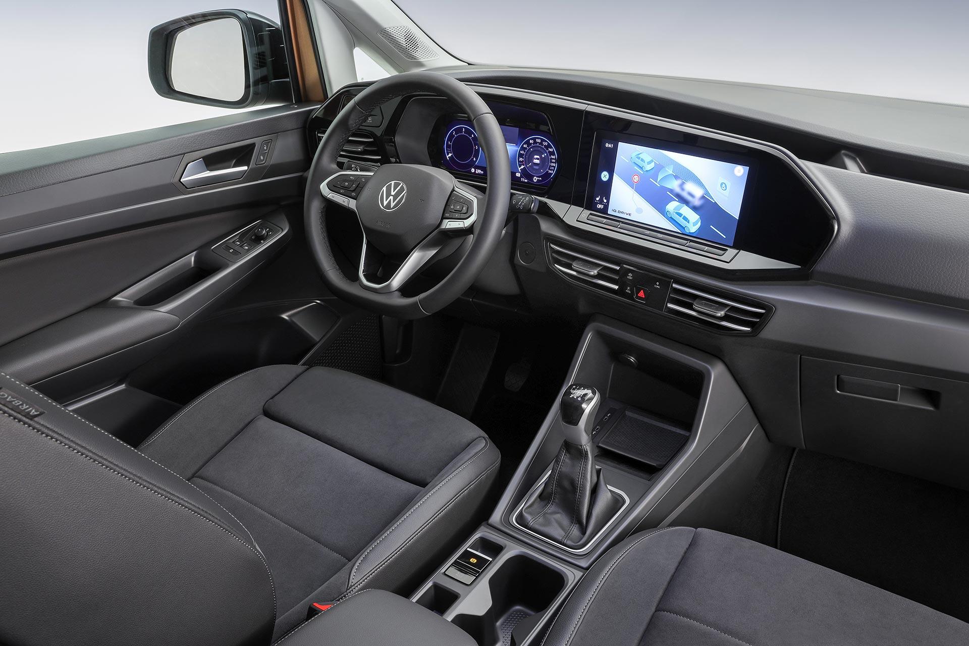 Interior Nuevo Volkswagen Caddy