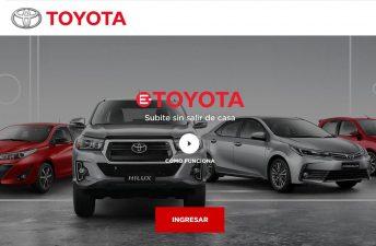 Cómo funciona e-Toyota, la plataforma para comprar autos online