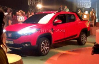 La nueva Fiat Strada, al descubierto