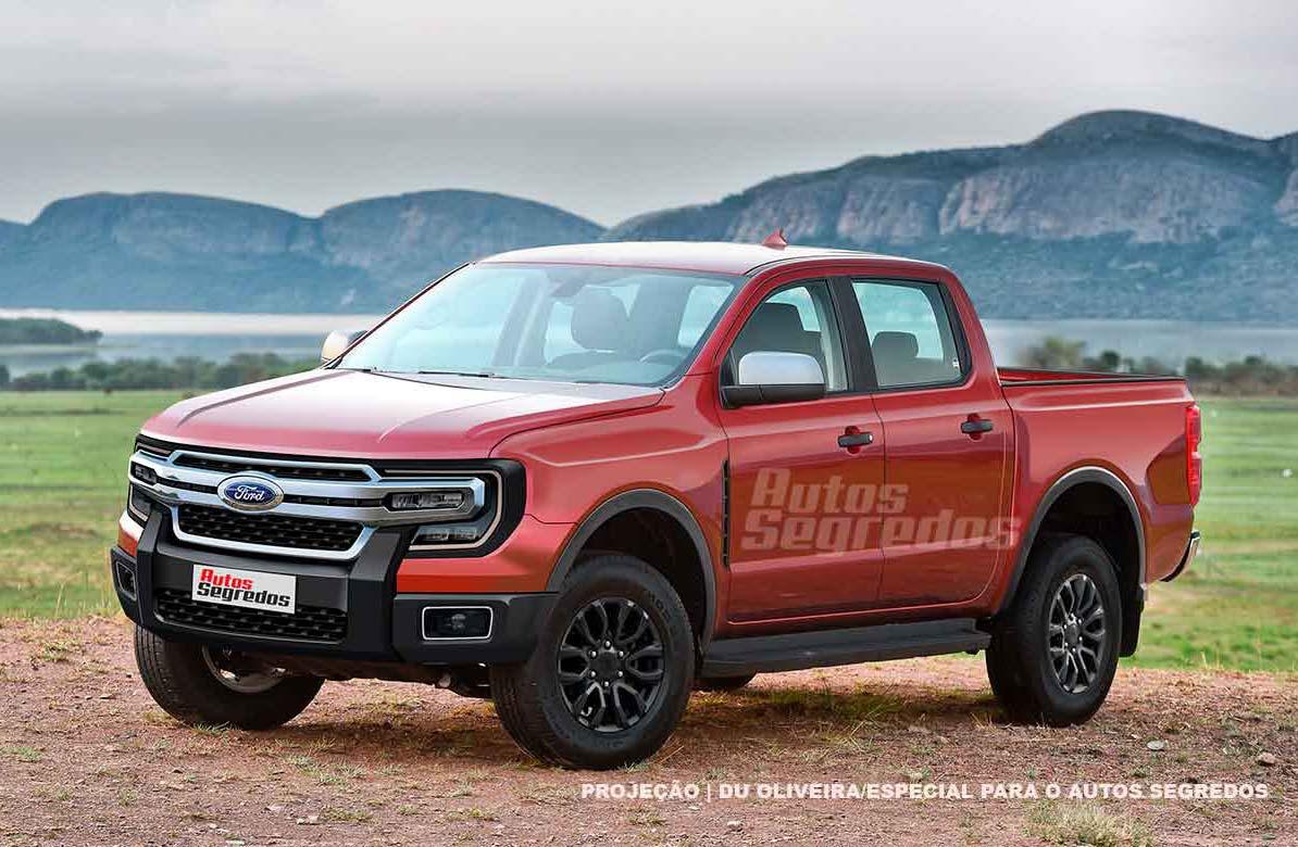 Para 2022: la próxima Ford Ranger argentina estará acompañada del SUV Everest