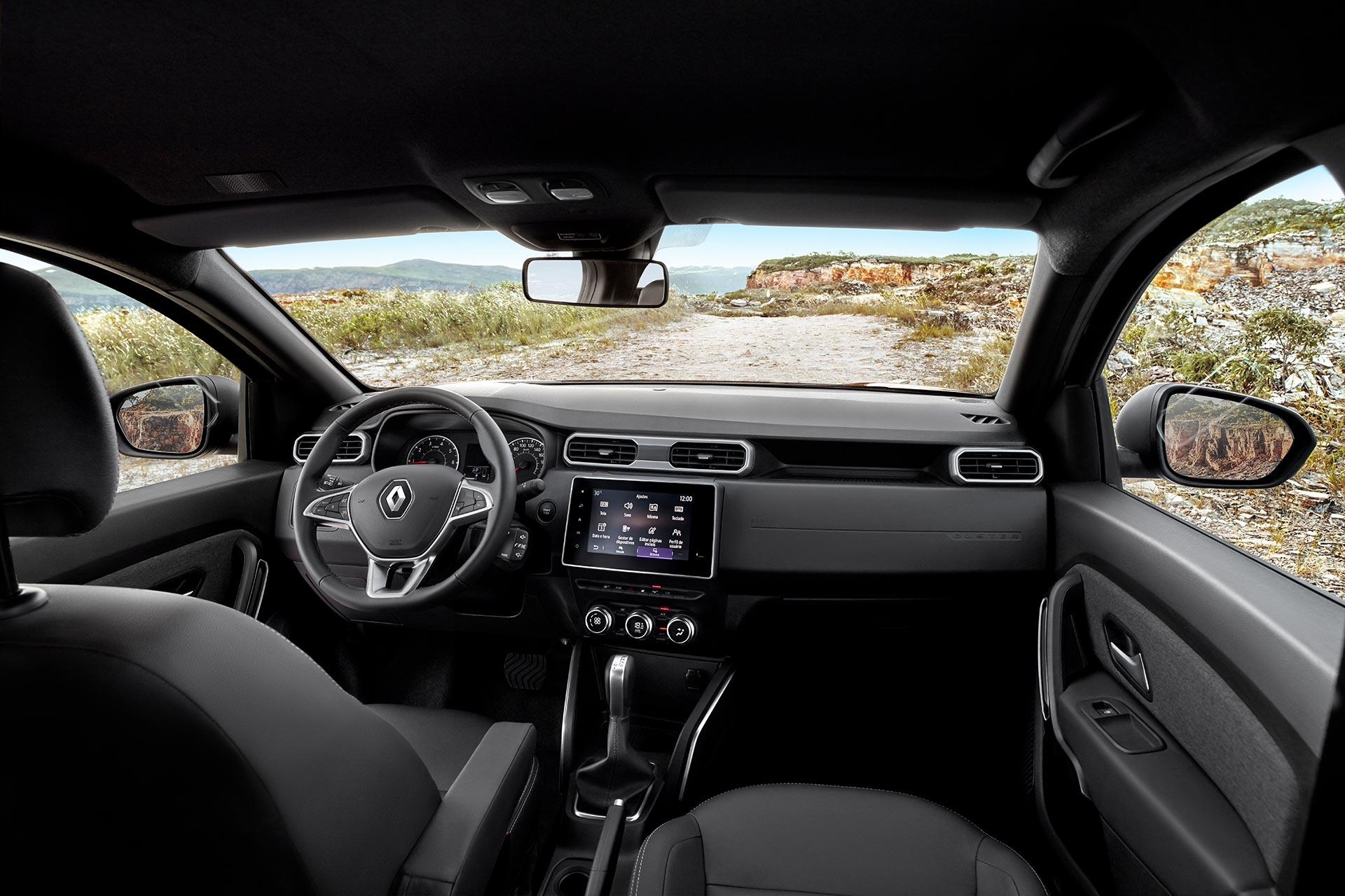 Interior Nueva Renault Duster 2021