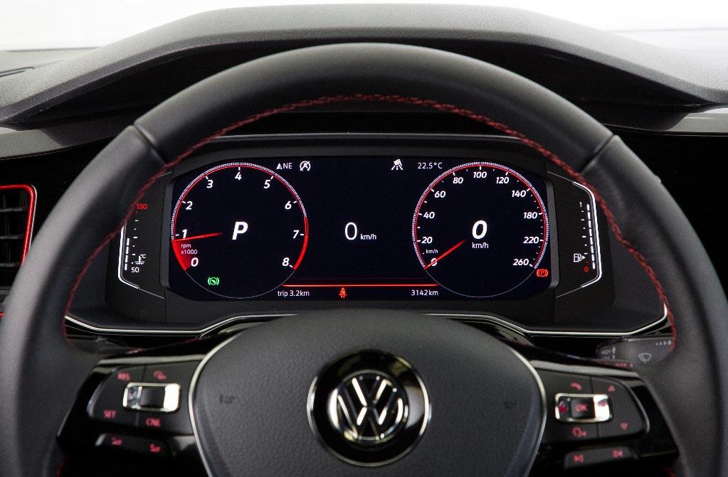 Tablero Volkswagen Virtus GTS